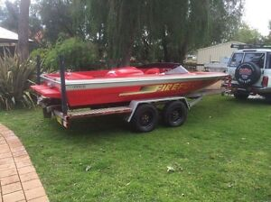 Lewis Fireball ski boat 350 Chev Yalyalup Busselton Area Preview