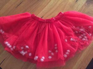 Girls Christmas Tutu skirt Quinns Rocks Wanneroo Area Preview