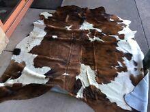 Brindle black white brown grey tri salt pepper cow hide rugs skins Melbourne CBD Melbourne City Preview
