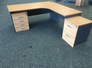 Office Desk & 2 Cabinets Midvale Mundaring Area Preview