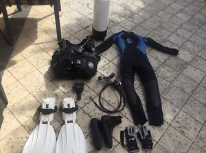 Scuba gear full set Canning Vale Canning Area Preview