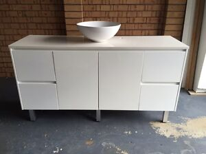 White Bathroom Vanity Wamberal Gosford Area Preview