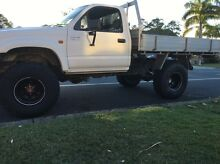 Toyota Hilux 4x4 2004 3.4l v6 manual single cab Tweed Heads West Tweed Heads Area Preview