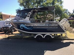FREMANTLE BOAT HIRE PERTH. Heavy duty plate alloy for hire Attadale Melville Area Preview
