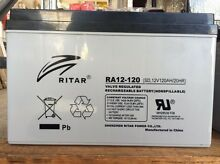 RITAR RA12-120SD, 12V, 120AH Deep cycle AGM Battery Gympie Gympie Area Preview