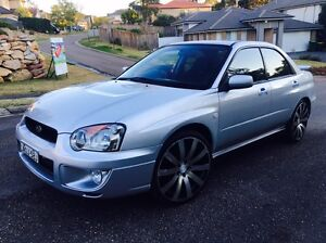Subaru Impreza 2.5 RS AWD 2003 Sedan Manual Low Klms Kellyville The Hills District Preview