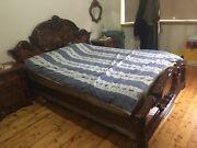 Queen size bedroom set complete Coburg Moreland Area Preview