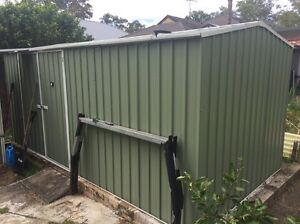 Absco Workshop garden Shed 4.50m x 2.26m COLORBOND Heathcote Sutherland Area Preview