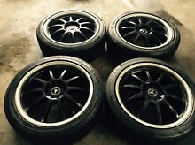 17 inch rims fit Astra , victera rims&tyres Dandenong Greater Dandenong Preview