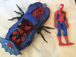 Spiderman Car & Doll in Good Preowned Condition Kensington South Perth Area Preview