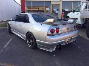 1993 Nissan Skyline ECR33 GTS25T Red Hill Brisbane North West Preview