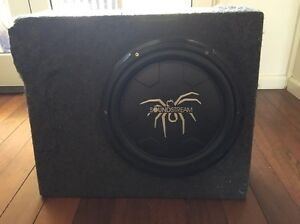 """Soundstream slimline 12"""" sub and box for sale Cairns Cairns City Preview"""