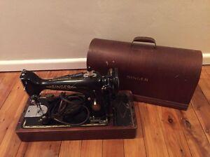 Vintage Singer Sewing Machine in Original Case Pymble Ku-ring-gai Area Preview