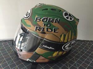 Arai Corsair V Nicky Hayden GP Camo Replica Large Motorcycle Helmet Mosman Mosman Area Preview