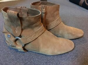 Sportsgirl Leather short boots Homebush West Strathfield Area Preview