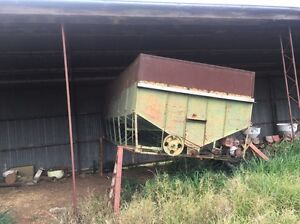 V Bottom Grain Storage Bin With Belly Auger! Rosewood Ipswich City Preview