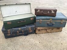 Vintage suitcases X 5 Braeside Kingston Area Preview