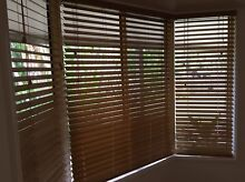 Wooden Venetian Blinds - multiple sizes for sale Marcus Beach Noosa Area Preview