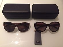 Cue ladies' tortoiseshell sunglasses - 2 pairs - NEW Brunswick East Moreland Area Preview