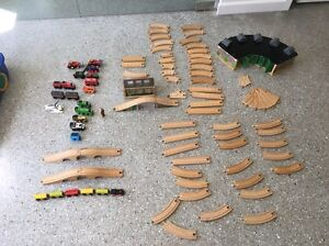 Thomas the tank engine track, roundhouse and trains Belrose Warringah Area Preview