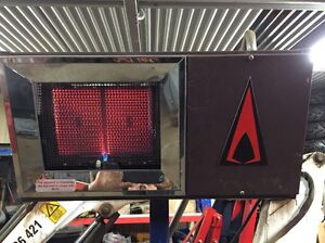 Gas portable LPG radiant heater shed Gembrook Cardinia Area Preview