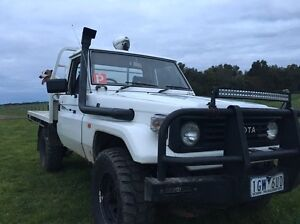 75 series Toyota  land cruiser Colac Colac-Otway Area Preview