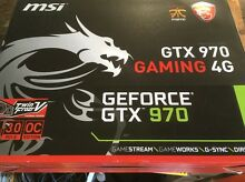 Msi 970 gtx 4 gigabyte gaming card Woy Woy Gosford Area Preview