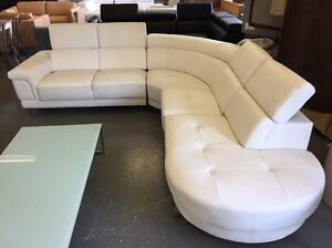 White Leather Modular - BRAND NEW Dandenong South Greater Dandenong Preview