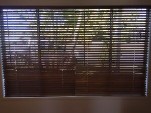 3 X Timber Venetian blinds Mackay Mackay City Preview