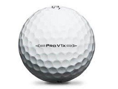 50 Titleist Pro V1X 2018 Near Mint Used Golf Balls AAAA (4A)