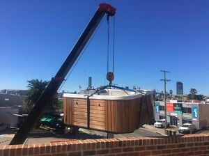Outdoor spa removals and delivery Eight Mile Plains Brisbane South West Preview