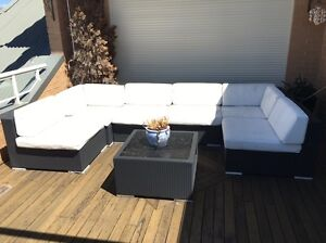 Levantine Outdoor sofa set with table sits up to 8 people!! Canada Bay Canada Bay Area Preview