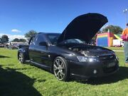 Heavily modified vz ss ute. Atherton Tablelands Preview