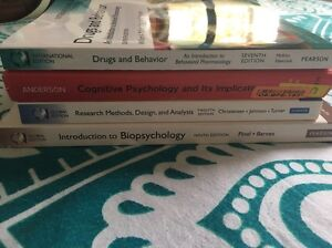 Psychology textbooks Mount Cotton Redland Area Preview