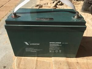 Vision 12volt, 120 a/h AGM battery Canning Vale Canning Area Preview