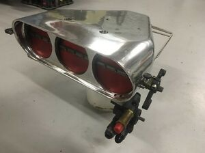 Enderle bird catcher fuel injection hat.  Drag ford Chevy blower St Marys Penrith Area Preview