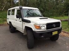 2008 Toyota Troopcarrier v8 4.5 turbo diesel Landcruiser troopy Coal Point Lake Macquarie Area Preview