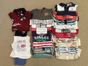 BULK Size 00 (3-6mth) Boy's Spring/Summer Clothing bundle -90+ items Jane Brook Swan Area Preview
