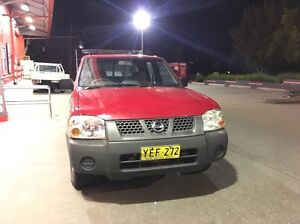 03 Nissan navara,dual cap,low kms  only!! Sydney City Inner Sydney Preview