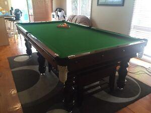 8x4 Slate Billiard Table Chirnside Park Yarra Ranges Preview