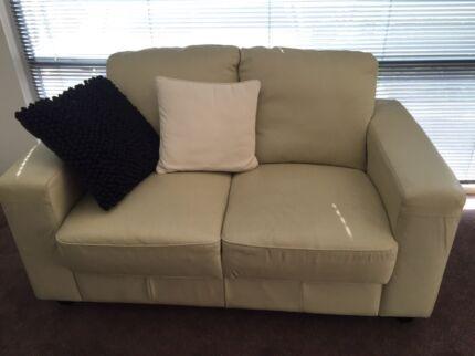 leather couch sofas gumtree australia whitehorse area