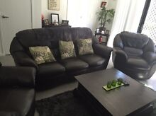 Leather 3 seater and 2 recliners Murrumba Downs Pine Rivers Area Preview