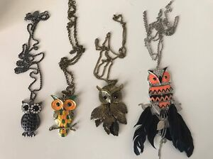 Beautiful owl necklaces Blakeview Playford Area Preview