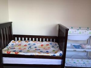 Baby cot with mattress - Boori country collection Wantirna South Knox Area Preview
