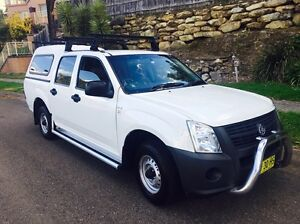 Holden Rodeo DX 2007 MY07 Dual Cab Ute Manual Kellyville The Hills District Preview