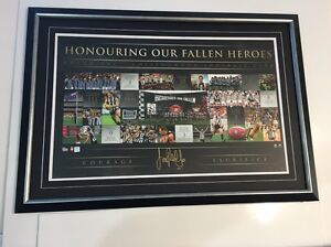 Collingwood Anzac print signed by Pendlebury Darch Wanneroo Area Preview