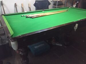 Pool / Billiard Table 9x4 ft, Slate Templestowe Lower Manningham Area Preview