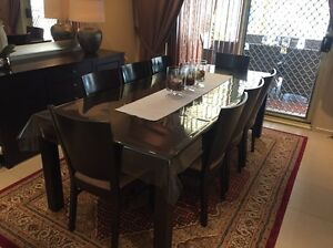 Wooden dining chairs Regents Park Auburn Area Preview