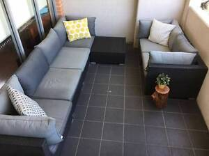 Large 7 piece outdoor setting Botany Botany Bay Area Preview