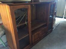 Wood tv unit Bidwill Blacktown Area Preview
